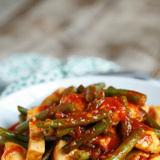 20-Minute Sweet and Sour Harissa Chicken with Green Beans