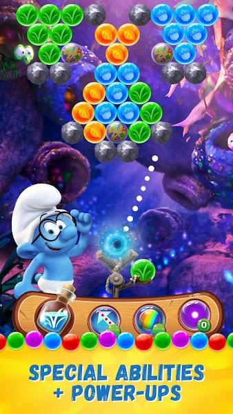 Smurfs Bubble Story v1.5.6579 [Mod]