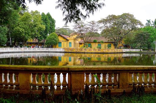 vietnam-mausoleum-grounds.jpg - Part of the mausoleum of former Leader Ho Chi Minh.