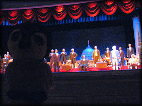 Photo: Carlisle in the Hall of Presidents