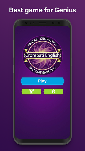 Ultimate KBC 2020 - GK IQ Quiz in Hindi & English  screenshots 1