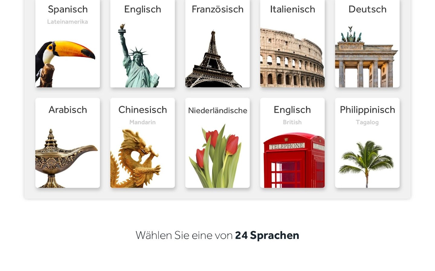 sprachen lernen rosetta stone android apps auf google play. Black Bedroom Furniture Sets. Home Design Ideas