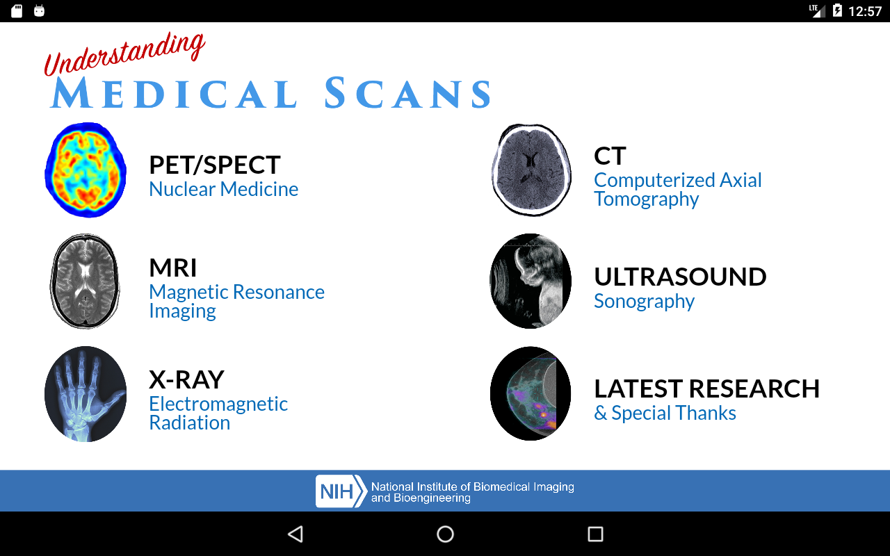 Understanding Medical Scans- screenshot