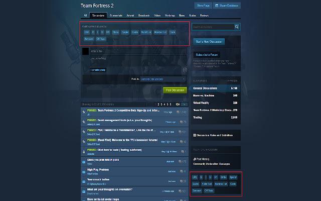 Steam Discussion Helper