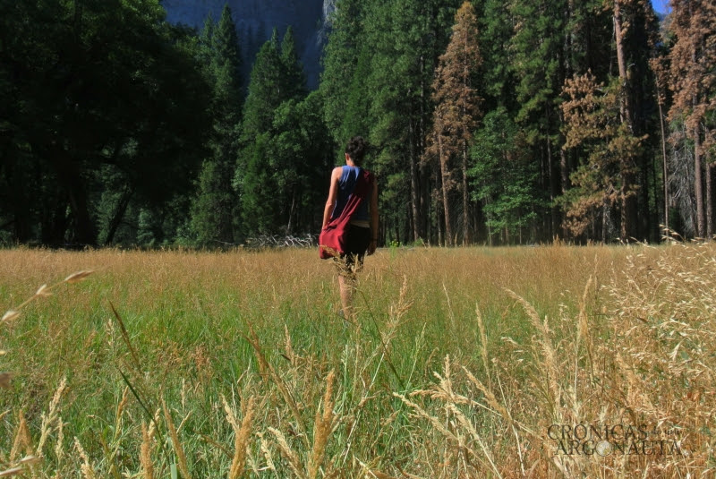 Irene en el paruqe nacional de Yosemite