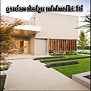 Garden Design Minimalist 3d - náhled