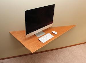 Photo: Computer wall desk