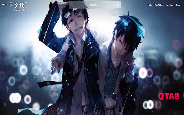 Blue Exorcist Wallpapers New Tab