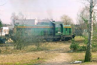 Photo: SM42-985 {szlak Toruń Północny - Olek; 2001-03-27}