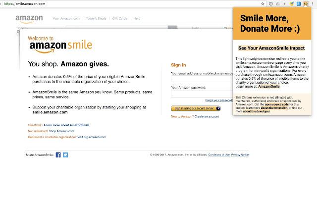 Smile More, Donate More :)