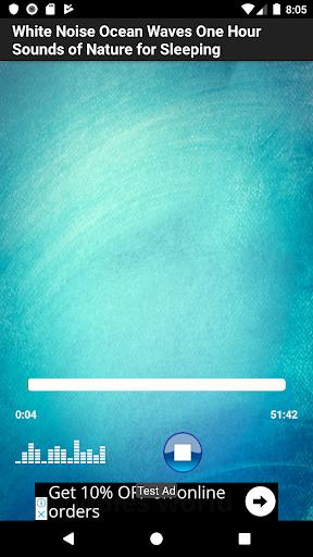 View Music Ocean App  Background