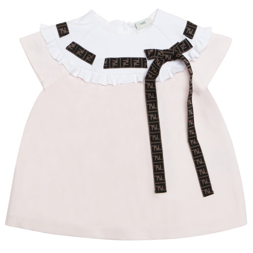 Primary image of Fendi Pink Jersey Dress