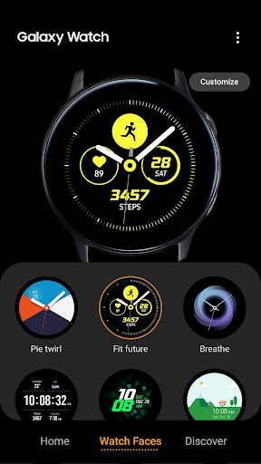 Galaxy Wearable screenshot 4