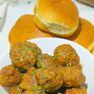 Slow Cooker Smoky Meatball Sliders