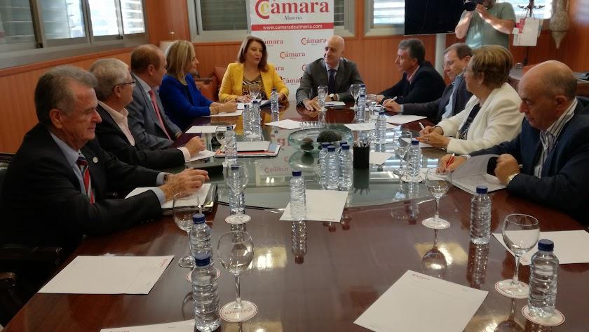 Reunión en la Cámara para analizar los retos de Almería
