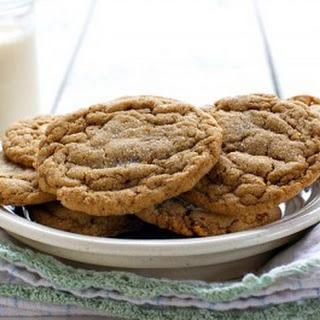 Soft Molasses Cookies.