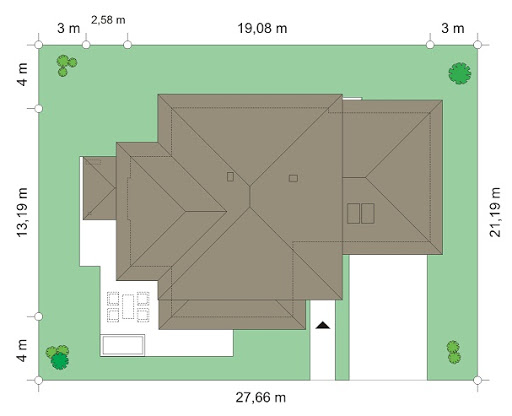 Dom z widokiem 3 - Sytuacja