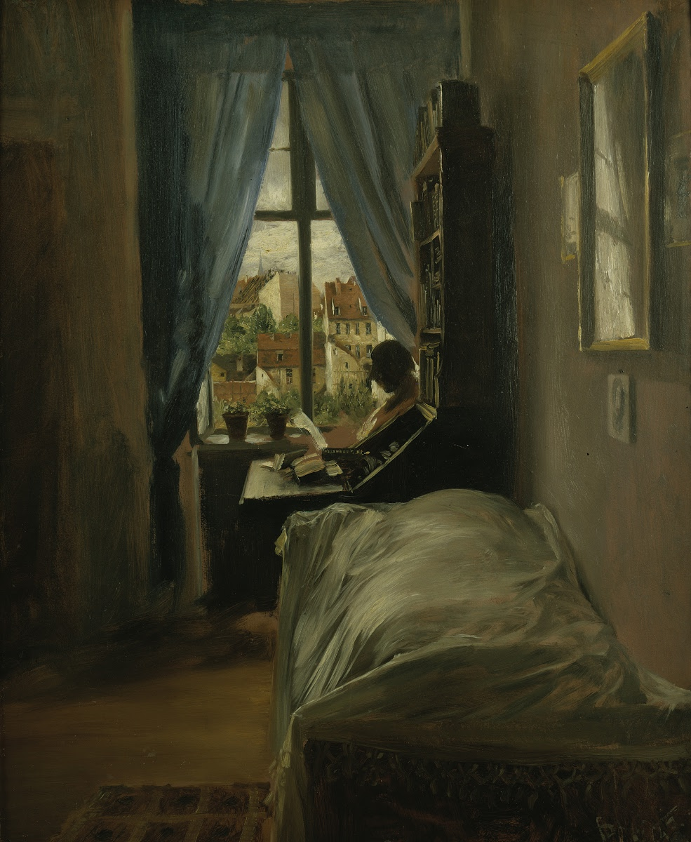 The Artist S Bedroom In Ritterstrasse Adolph Menzel Google Arts Culture