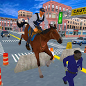 Police Horse Quest: Criminal Chase Crime City icon