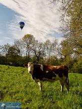 Photo: Vol en ballon au-dessus des Combrailles