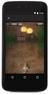 DefendersMission -Arcade Game- Fighter Plane Game - náhled