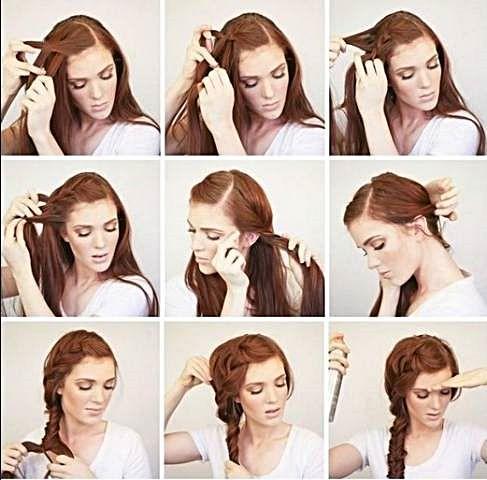 女性のための簡単なヘアスタイル