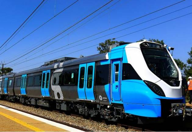 Prasa's fleet of trains. File photo.