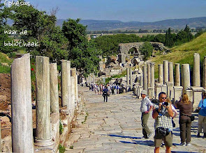 Photo: Ephesos, Curetus Street towards to Library of Celsus