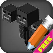 Draw games heroes on the steps  Icon