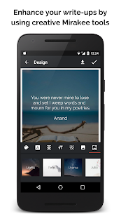 Miraquill (Formerly Mirakee) – Write Quotes, Poems 1.99 MOD + APK + DATA Download 2