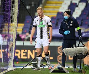 Inquiétude à Charleroi autour de la blessure de Van Cleemput