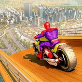 Tải siêu Anh hùng Xe đạp Mega Giốc Không thể nào Stunt miễn phí