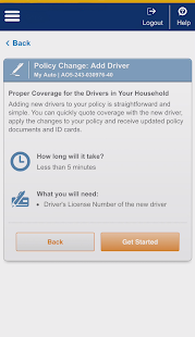 Liberty Mutual Mobile- screenshot thumbnail
