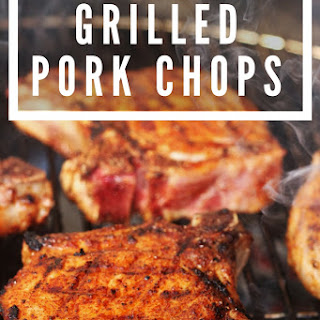Simple Grilled Pork Chops with Homemade BBQ Rub Recipe