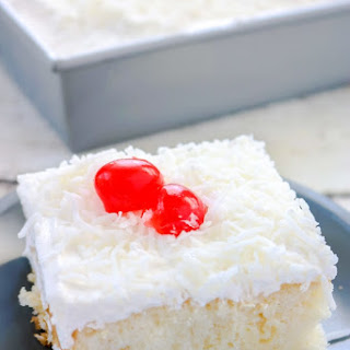Easy Coconut Poke Cake Recipe