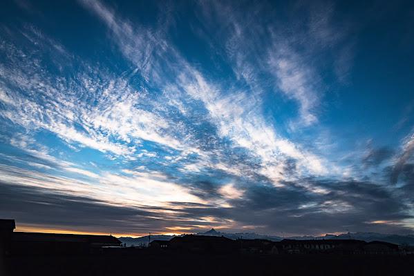 Spazzolata al tramonto di buagol