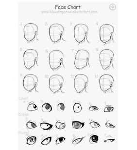 Head Drawing Tutorials - náhled