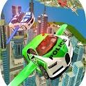 FLYING POLICE CAR SIMULATOR icon