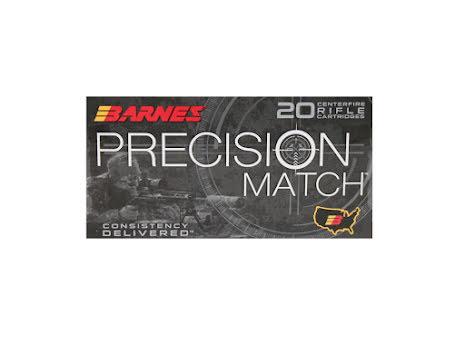 Barnes 6,5 Creedmoor Precision Match OTMBT 140gr
