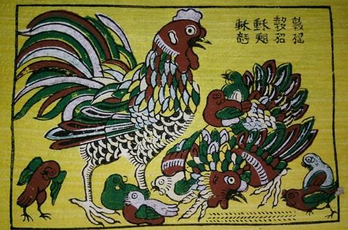 Làng tranh Đông Hồ đậm văn hóa dân gian 3