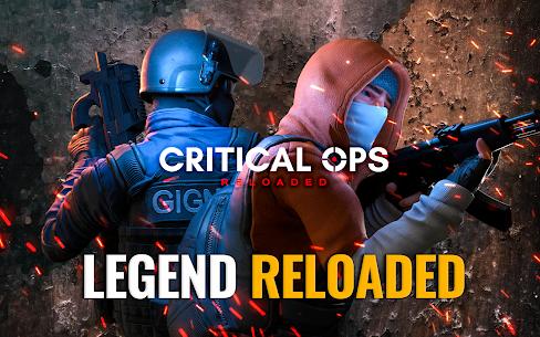 Critical Ops: Reloaded Mod Apk MOD (Enemy on Minimap) 8