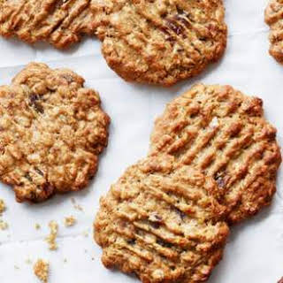 Oatmeal-Peanut Butter Cookies with Dates.