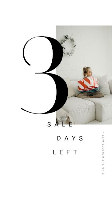 3 Sales Days Left - Facebook Story Template