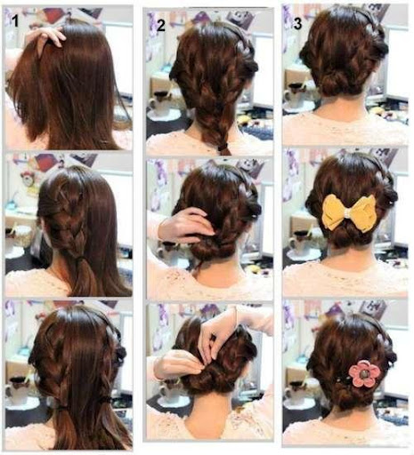 Hairstyles step by step 2018  screenshots 5