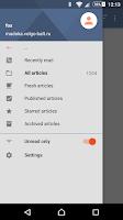 Screenshot of Tiny Tiny RSS (TRIAL)