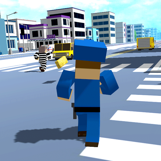 The Russian Blocky Police (game)