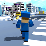 The Russian Blocky Police Icon