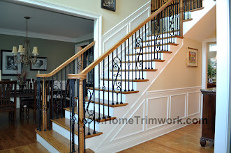 Photo: (After) Delaney's Stair metal balusters Schwenksville, PA