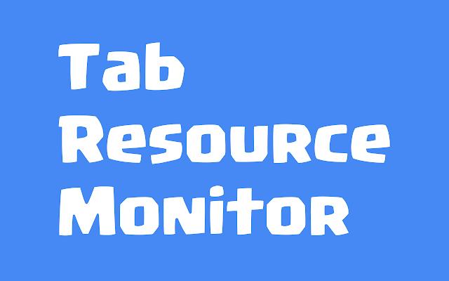 Tab Resource Monitor for Google Chrome