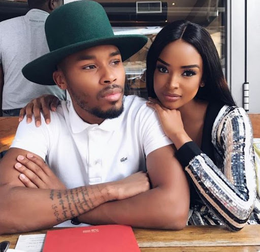 Dash and Ayanda Thabethe. / Instagram